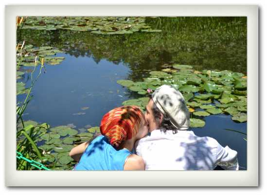 A Kiss in the Water Garden