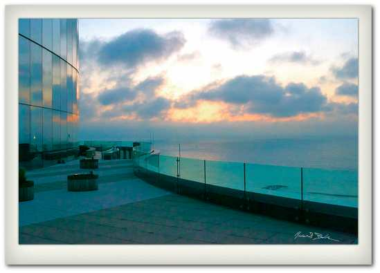 Sunrise at the Revel Resort