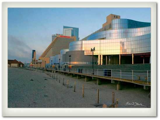Atlantic City in Winter