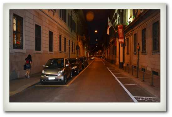 Brera at Night
