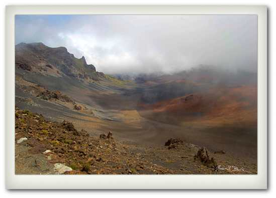The Crater at Haleakala