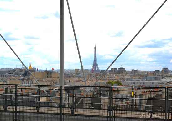 Paris from the The Pompidou Center