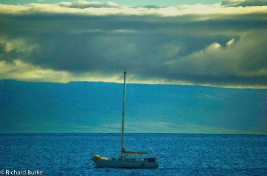 Boat and Clouds