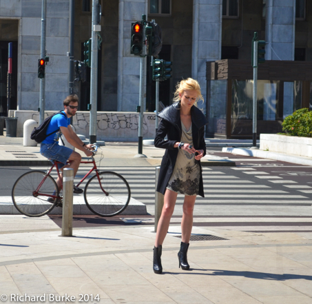 The Model and The Cyclist