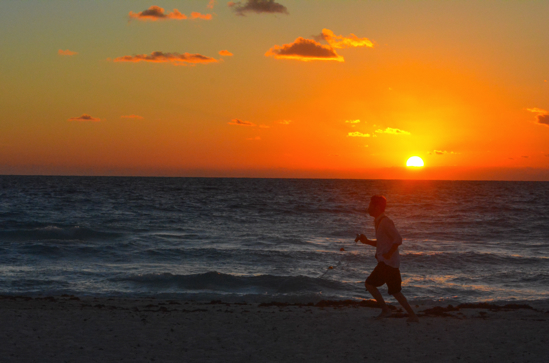 Lagunamars at sunrise