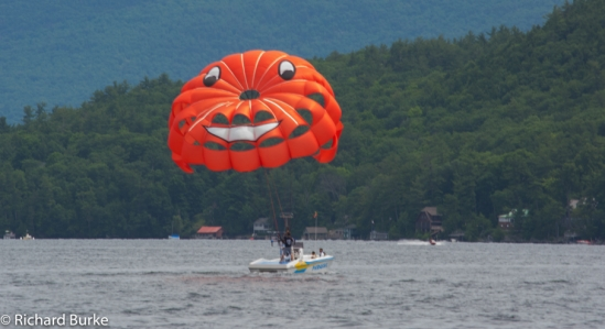 Smile over Lake George