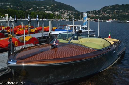 Wooden Beauty on Lake Como.