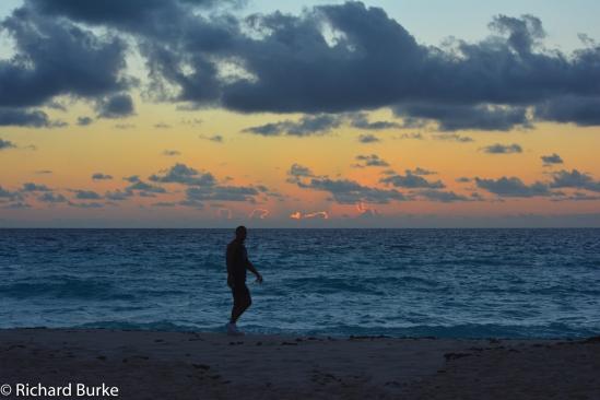 PRe Dawn Beach Walk