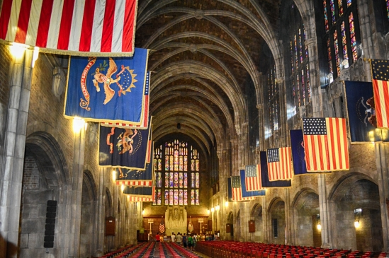 The Chapel at The United States Military Academy