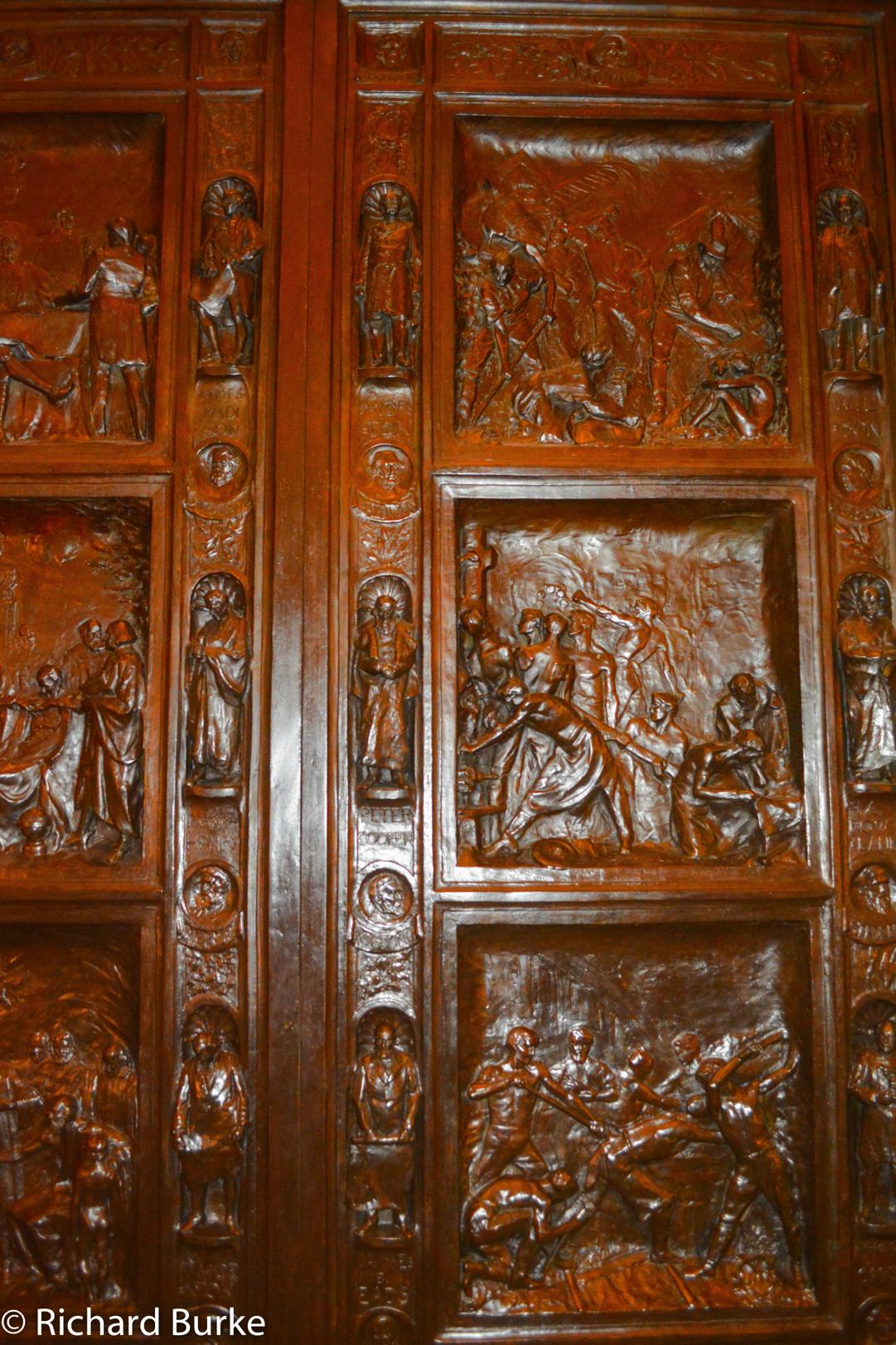 A Capitol Door