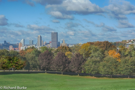 Pittsburgh from Schenley Oval