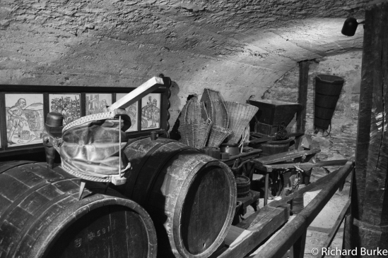 The Barrel Room at Marksburg Castle
