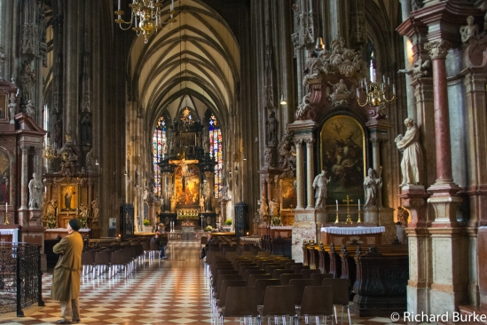 Saint Stephen's Cathedral in Wien.